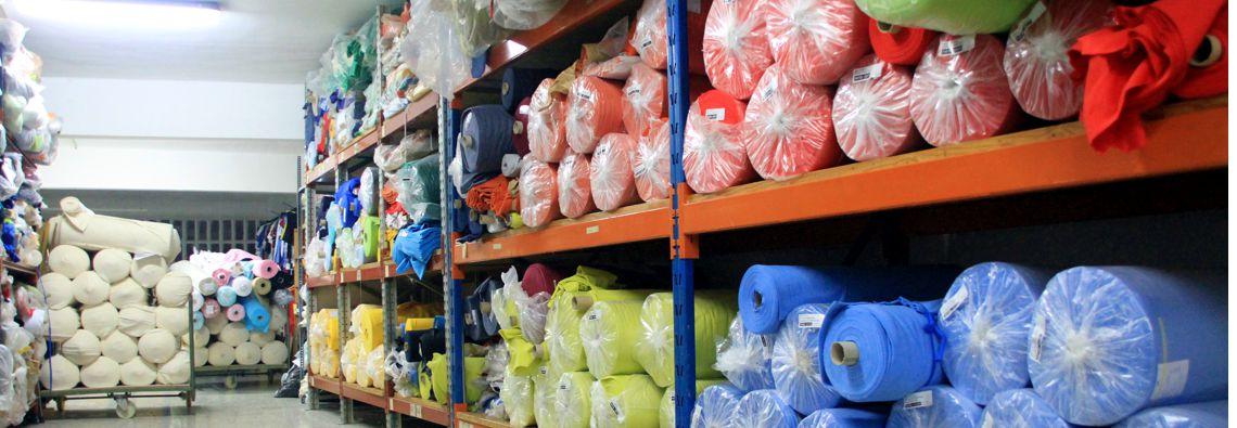 Fabricación textil. tejidos personalizados